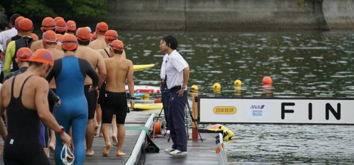 須崎で屋外水泳競技大会、オープンウォータースイミング!