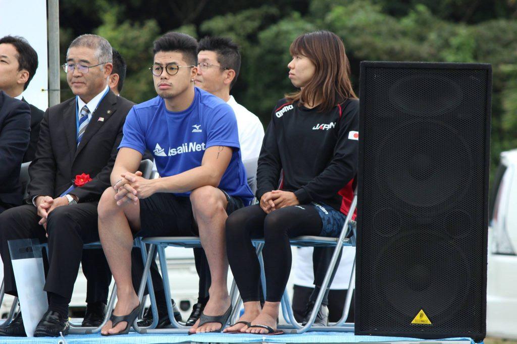 2016年招待選手の国内男女チャンピオン。平井康翔選手と貴田裕美選手。/《ふるさとと》ともに輝くヒト、モノ、コトを紹介する高知のライフメディア